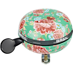 Basil Bloom Bicycle Bell Ø80mm, emerald green